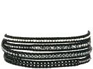 32' Onyx Mix/Natural Black Wrap Bracelet