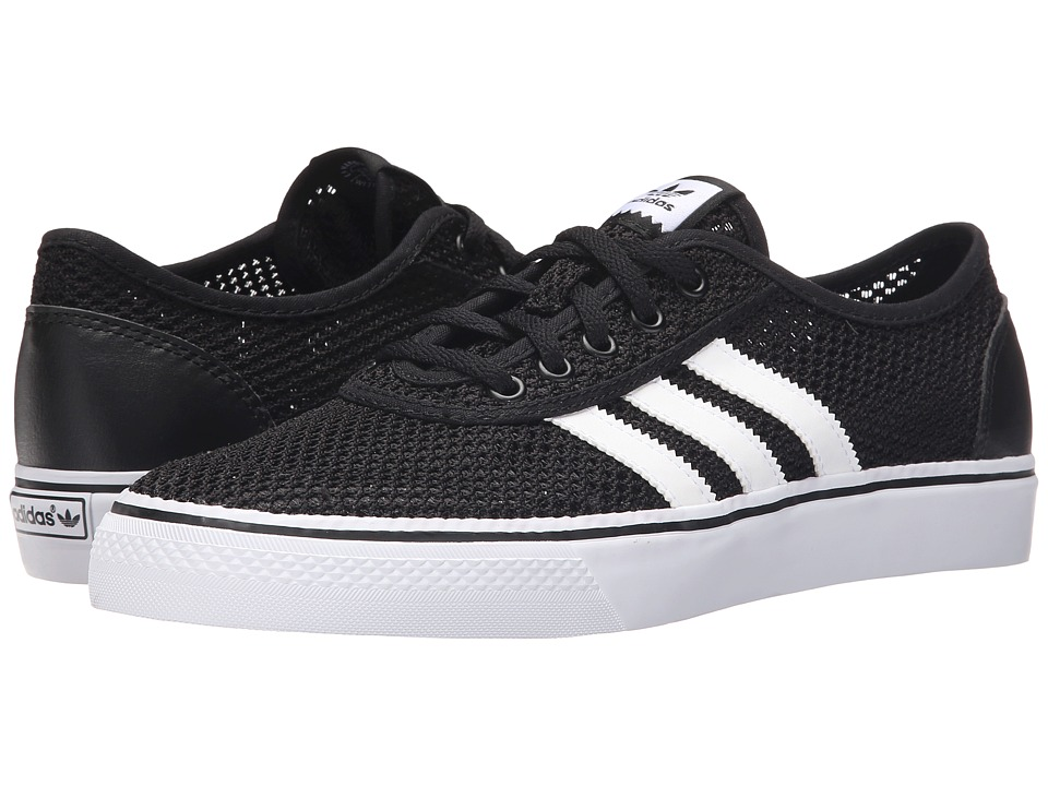 adidas Skateboarding Adi Ease Clima Black/White/Black Mens Skate Shoes