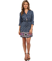 Angie - 1/2 Sleeve Print Shirtdress