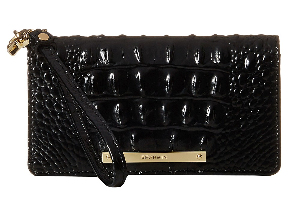 Brahmin - Debra (Black) Clutch Handbags