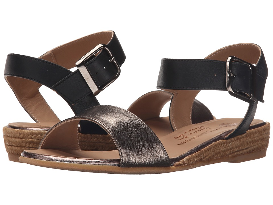 Eric Michael Amanda Pewter Womens Sandals