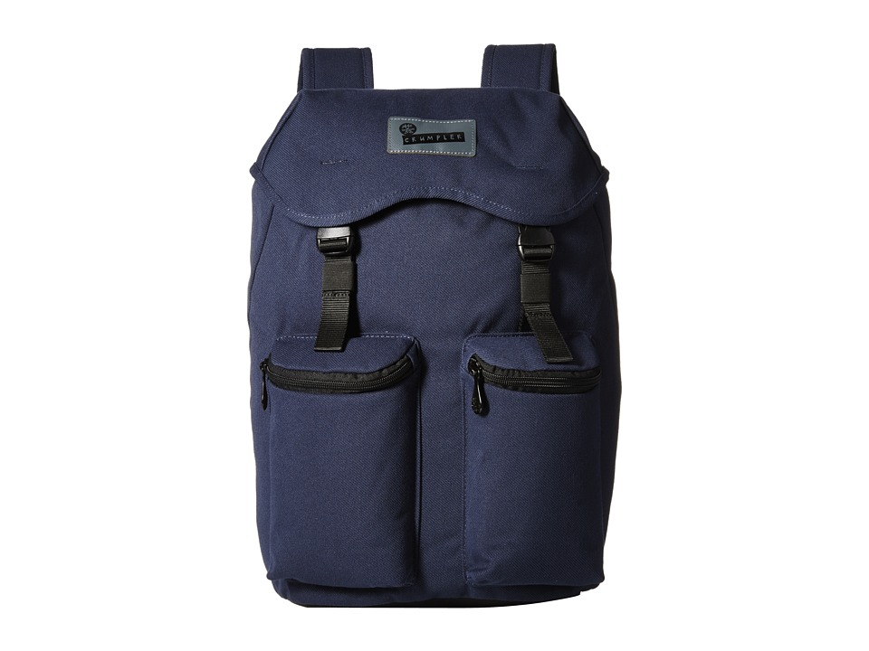 Crumpler - Tondo Outpost Laptop Backpack (Midnight Blue) Backpack Bags