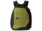 Crumpler The Dry Red No 5 Laptop Backpack (Khaki/Gunmetal)