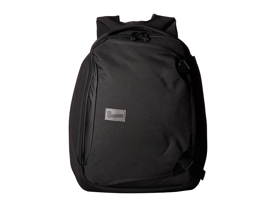 Crumpler - The Dry Red No 5 Laptop Backpack (Black) Backpack Bags