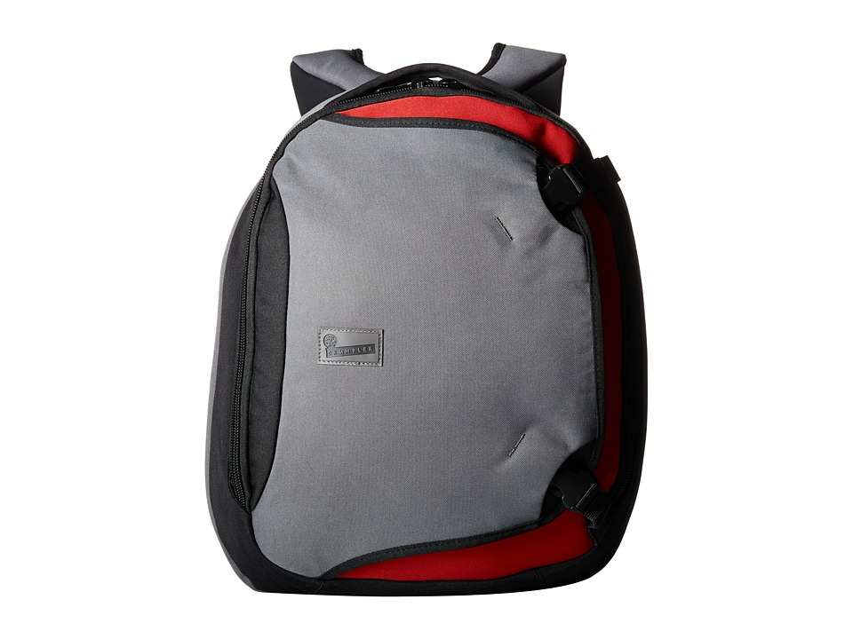 Crumpler - The Dry Red No 5 Laptop Backpack (Slate Grey) Backpack Bags