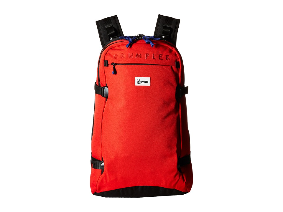 Crumpler - Low Level Aviator 30L 3 Day Travel Backpack (Red) Backpack Bags