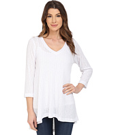 Nally & Millie - V-Neck Ribbed Tunic