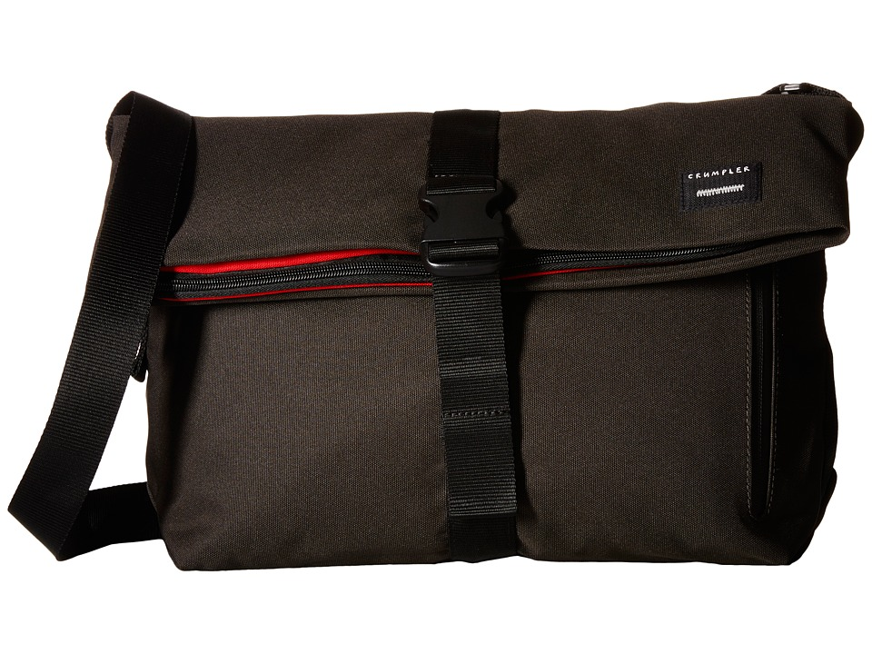 Crumpler - The Pinnacle of Horror Commuter Laptop Shoulder Bag (Gunmetal) Computer Bags