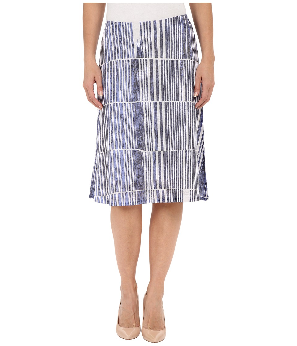 Nally amp Millie Blue Stripe Skirt Multi Womens Skirt