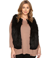 MICHAEL Michael Kors - Plus Size Chain Neck Fur Front Vest