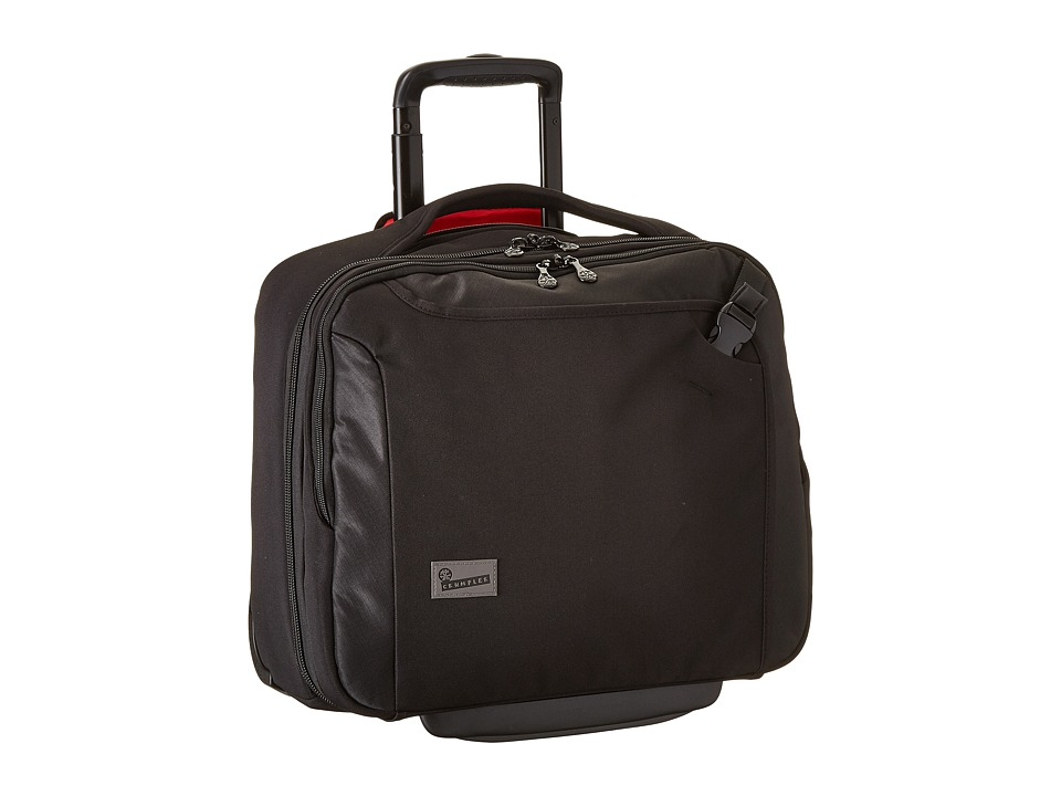 Crumpler - The Dry Red No 9 Laptop Briefcase on Wheels (Black) Briefcase Bags
