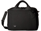 Crumpler The Dry Red No 8 Laptop Briefcase (Black)