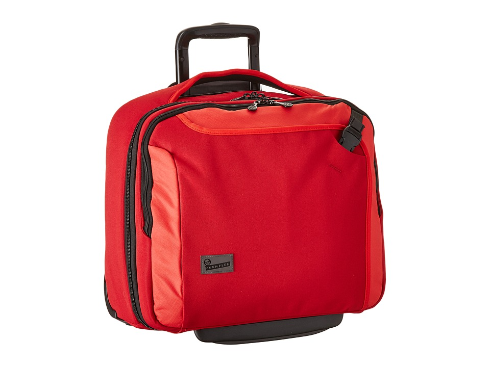 Crumpler - The Dry Red No 9 Laptop Briefcase on Wheels (Red) Briefcase Bags