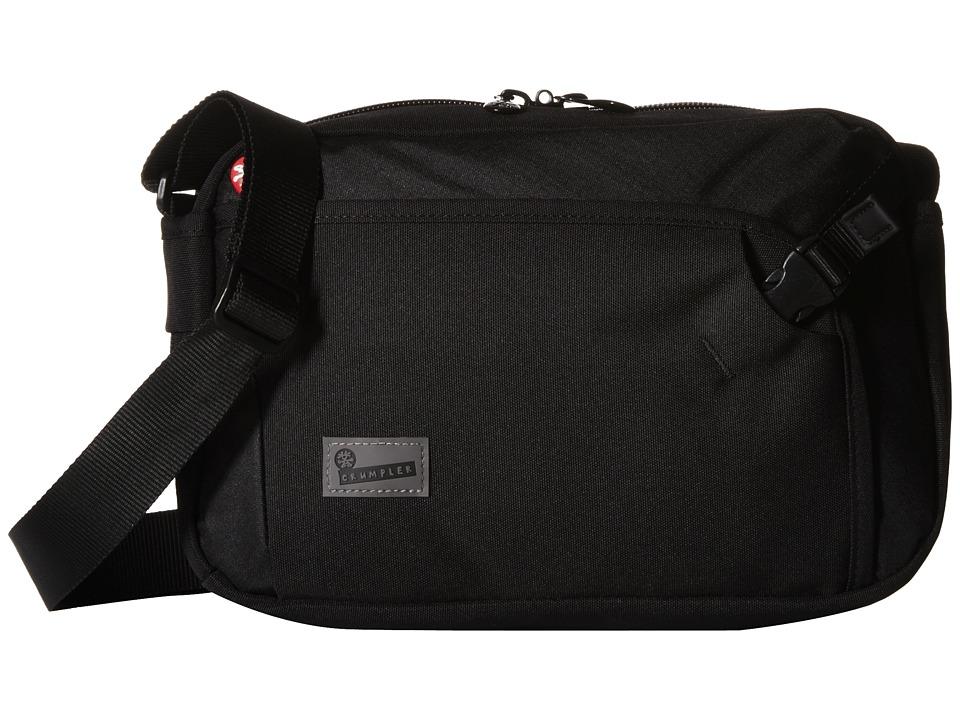 Crumpler - The Dry Red No 2 Boarding Bag (Black) Cross Body Handbags