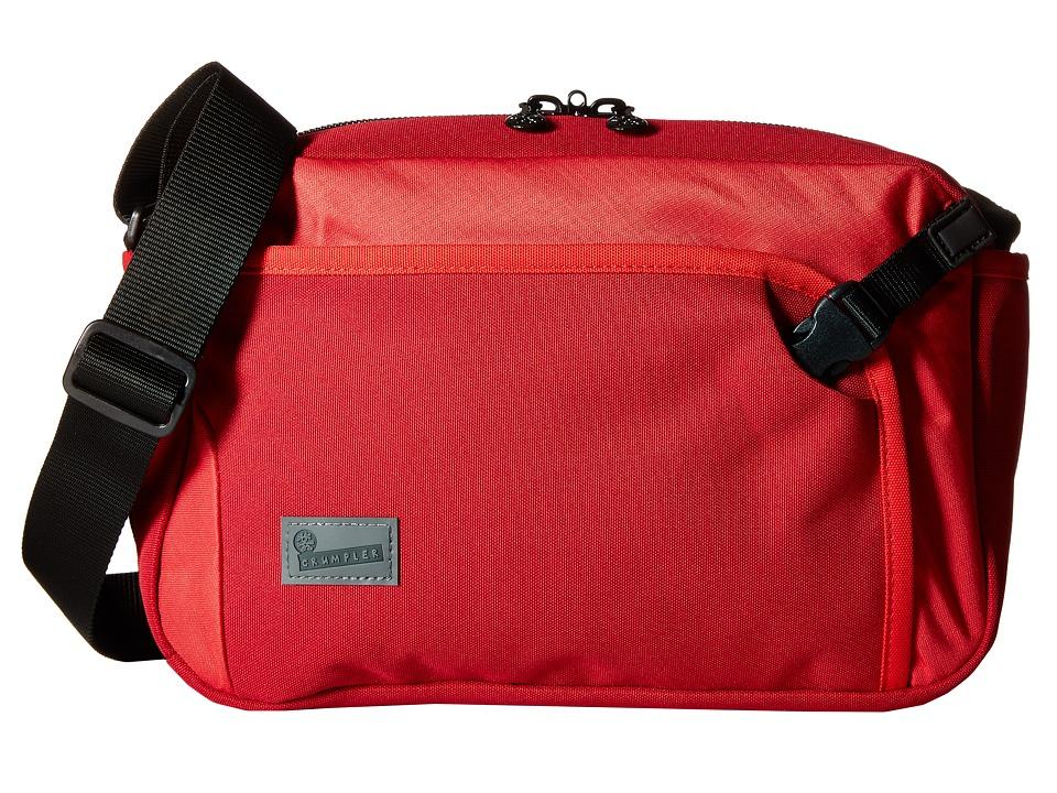 Crumpler - The Dry Red No 2 Boarding Bag (Red) Cross Body Handbags