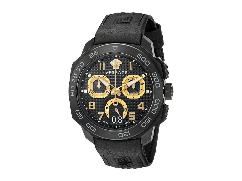 Versace Dylos Chrono VQC02 0015 Black Watches