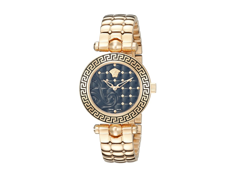 Versace Vanitas 30mm VQM05 0015 Rose Gold Watches