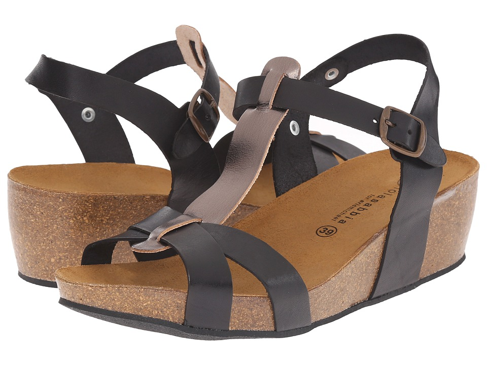 Eric Michael - Libby (Black/Pewter) Women