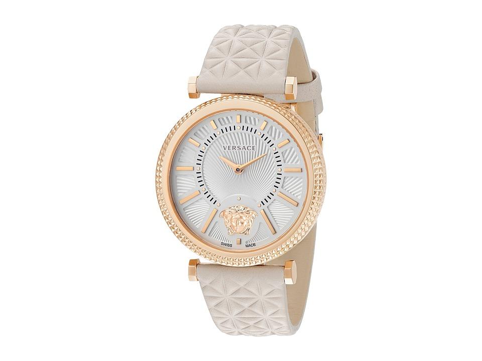 Versace V Helix VQG03 0015 Rose Gold/Tan Watches