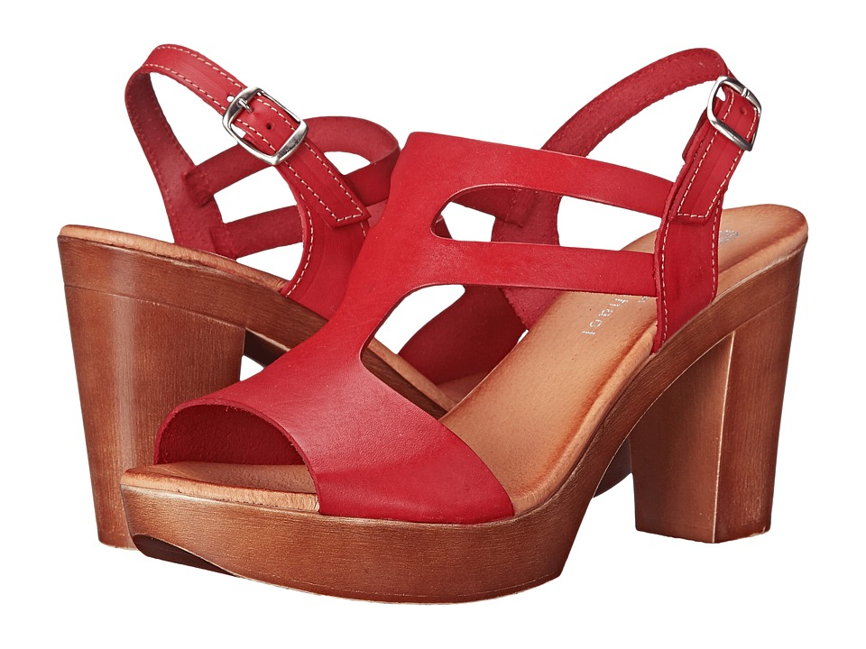 Eric Michael Alicia Red Womens Sandals