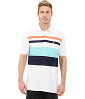 IZOD - Short Sleeve Stripe Pique Polo