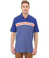 IZOD - Short Sleeve Advantage Stripe Polo