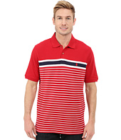 IZOD - Short Sleeve Advantage Stripe Polo