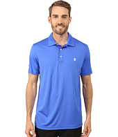 IZOD - Short Sleeve Pieced Interlock and Mesh Golf Polo