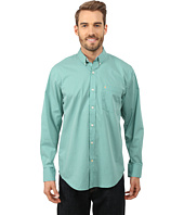 IZOD - Long Sleeve No-Iron Gingham Button Up Shirt