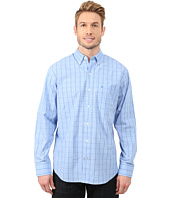 IZOD - Long Sleeve Windowpane Button Up Shirt