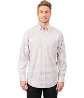 IZOD - Long Sleeve Tattersall Button Up Shirt