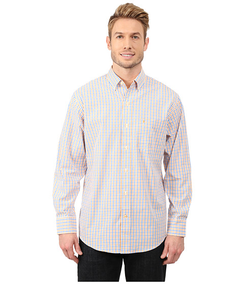 IZOD Long Sleeve Tattersall Button Up Shirt