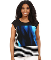 Calvin Klein Plus - Plus Size Mixed Print Tank Top