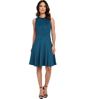 Calvin Klein - Flare Dress w/ Seams
