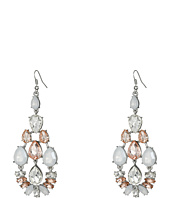 GUESS - Stone Cluster Chandelier Earrings