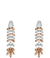 GUESS - Stone Fishbone Linear Earrings
