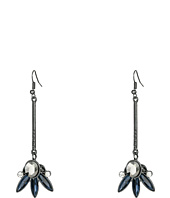 GUESS - Stick Linear with Stone Cluster Bottom Earrings
