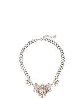 GUESS - Clustered Stone Front on Chunky Chain Necklace