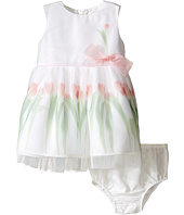 Us Angels - Sleeveless Mesh Popover w/ Tulip Photo Reel Print (Infant)