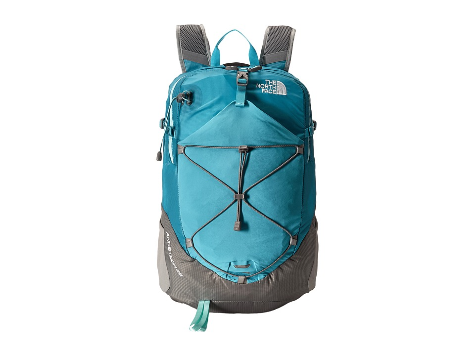 The North Face - Angstrom 28 (Bluebird/Q-Silver Grey) Backpack Bags
