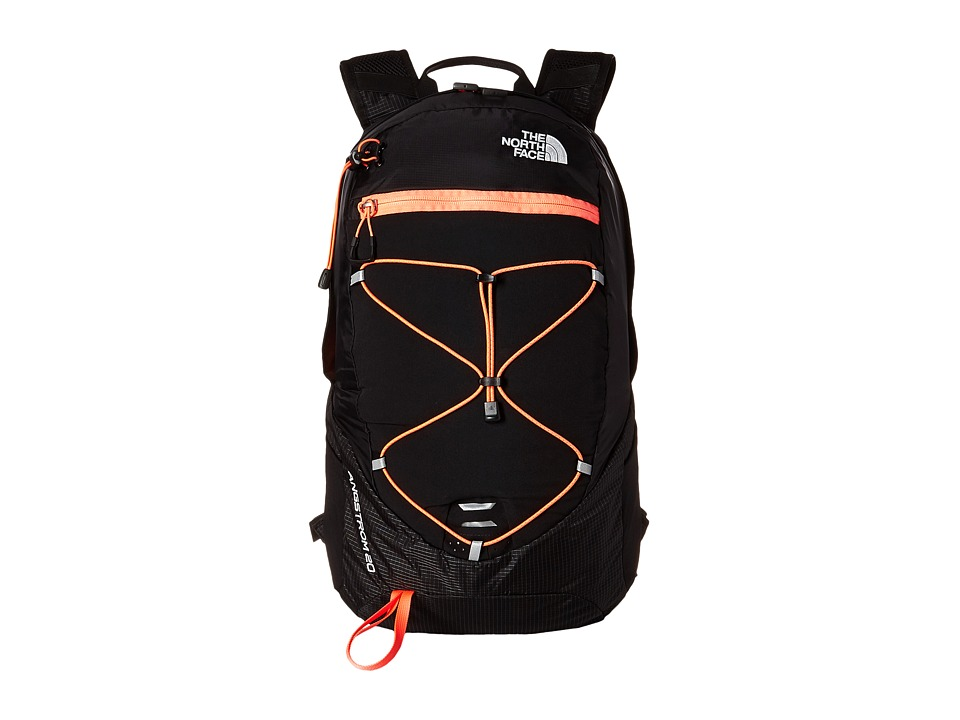 The North Face Angstrom 20 TNF Black/Tropical Coral Backpack Bags