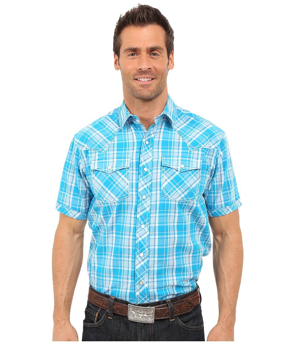 Ariat Elton Snap Shirt Dreamwave Mens Short Sleeve Button Up