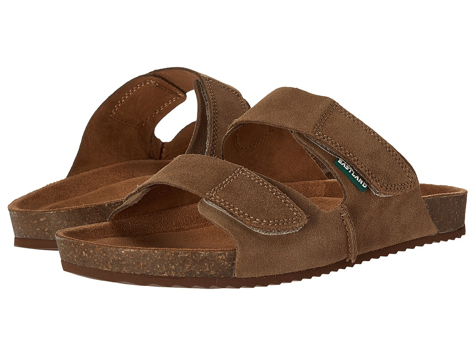 Eastland 1955 Edition Caleb Khaki Suede Mens Sandals