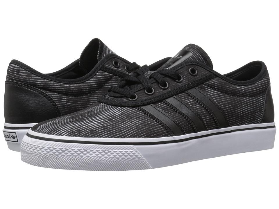 adidas Skateboarding Adi Ease Black/White/Gum4 Mens Skate Shoes