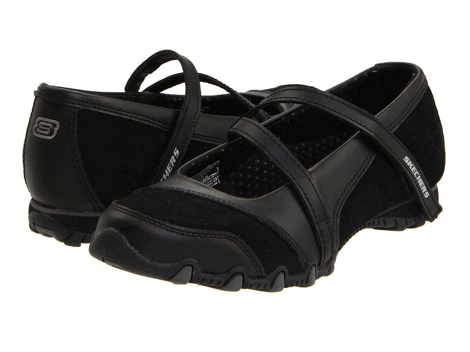 SKECHERS - Bikers - Step-Up (Black) Womens Shoes