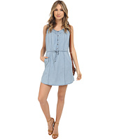 Jack by BB Dakota - Ferell Washed Out Chambray Drawstring Dress