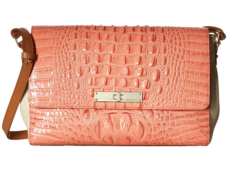 Brahmin Thea Creamsicle Handbags