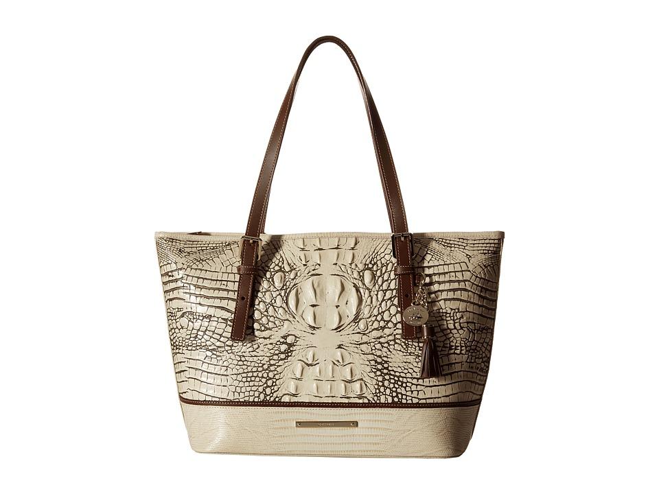 Brahmin Medium Asher Fossil Tote Handbags