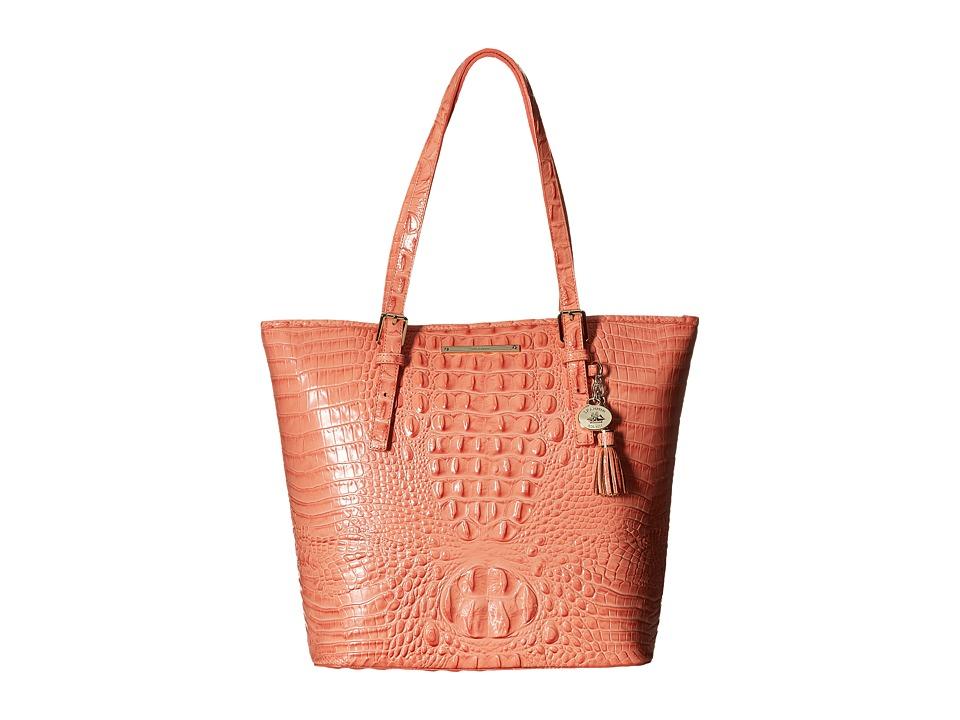 Brahmin Asher Tote Creamsicle Tote Handbags