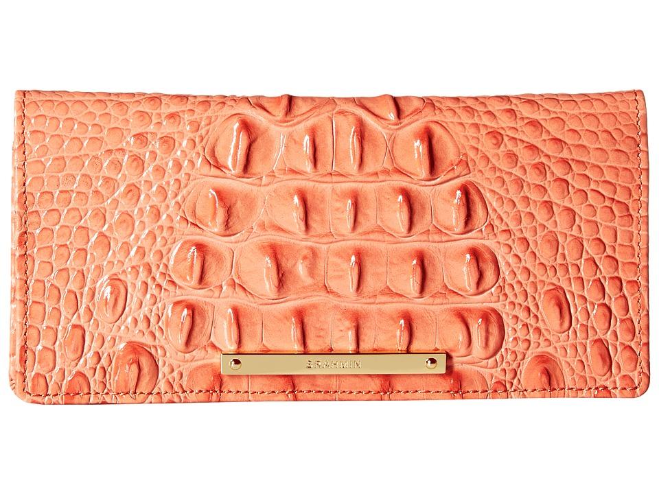 Brahmin Ady Wallet Creamsicle Wallet Handbags
